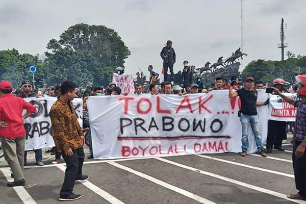 Tutup Pintu Maaf, Bupati Boyolali Serukan Jangan Pilih Prabowo di Pilpres