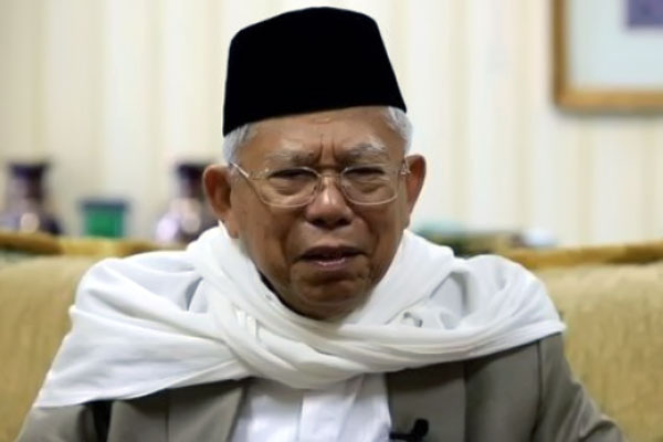 Ma'ruf Amin Bicara tentang Keutuhan Negara dan Aksi 212 yang Politis