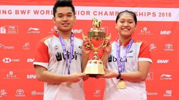 Indonesia Raih Medali Emas di Kejuaraan Dunia Bulutangkis Junior