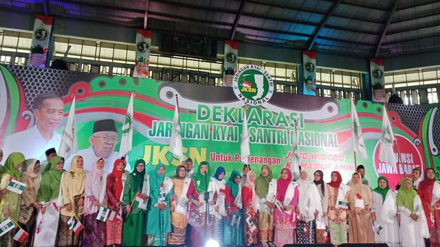 Jaringan Kiai Santri Nasional Jabar Targetkan 70% Suara untuk Jokowi-Ma'ruf di Pilpres 2019