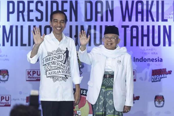 Dinilai Jujur dan Sederhana, 55,99 Persen Warga Sumut Pilih Jokowi-Ma'ruf