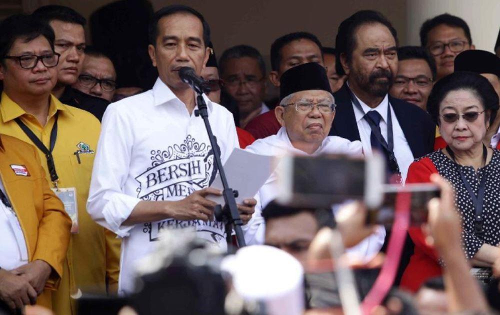 Kiai Maruf Sukses Dongkrak Elektabilitas Jokowi di Jakarta, Jabar, dan Banten