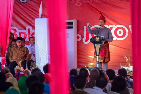 Jokowi berpesan banyak peristiwa politik, jangan mudah dipanas-panasi