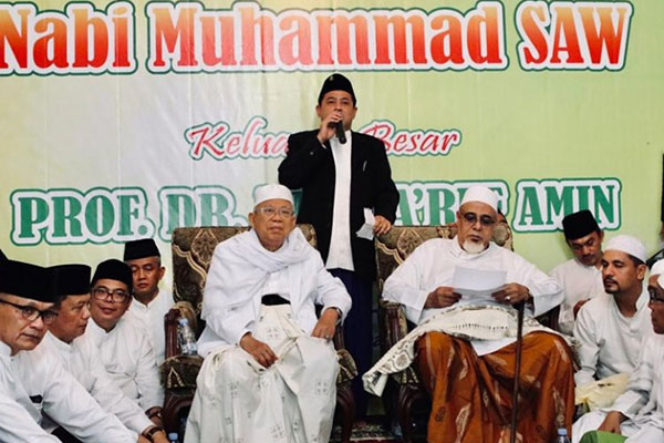 Selain NU Se-Jakarta, Ma'ruf Amin Yakin Raih Dukungan dari Ormas Lain