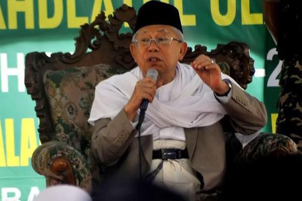 Ma'ruf Amin Puji Ridwan Kamil dengan Program Satu Desa Satu Hafidz