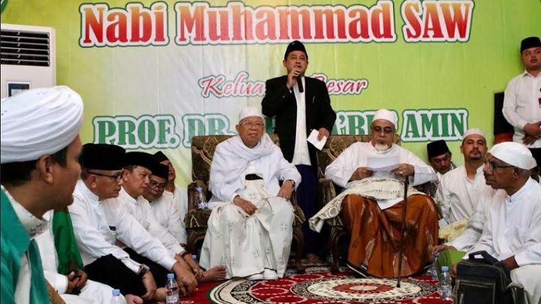 Maruf Amin Berharap Diselamatkan Allah SWT dari Tsunami Hoax