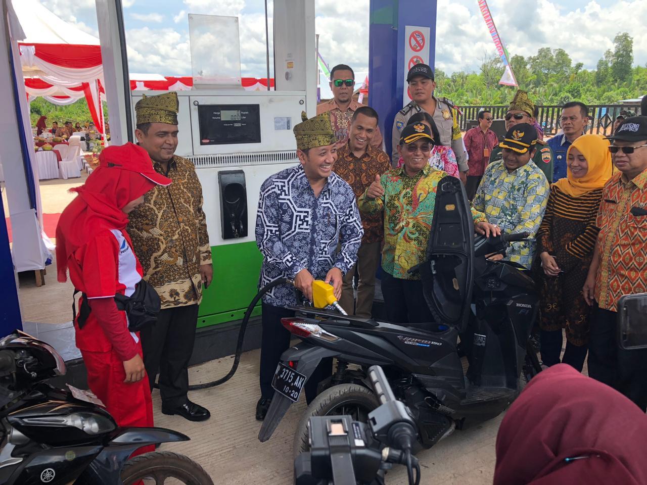 Lembaga Penyalur BBM Satu Harga Hadir di Pelalawan