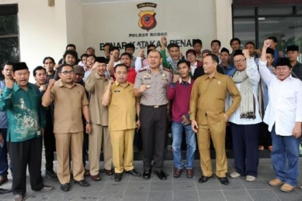 Polres Bogor Tolak Izin Penyelenggaraan Acara Paham Khilafah