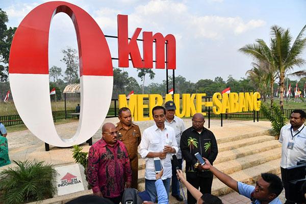 Presiden Jokowi Kunjungi Lokasi Pembangunan PLBN Sota yang Segera Dibangun