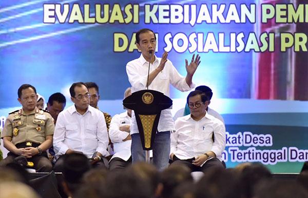 Presiden: Dana Desa Harus Tingkatkan Kesejahteraan Masyarakat Desa