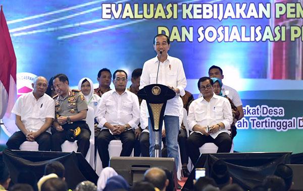 Dengan Dana Desa, Presiden Ingin Potensi Desa Menjadi Kekuatan Ekonomi