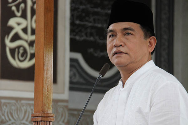 Yusril Ikut Urun Rembuk Program Hukum dan HAM untuk Jokowi-Maruf