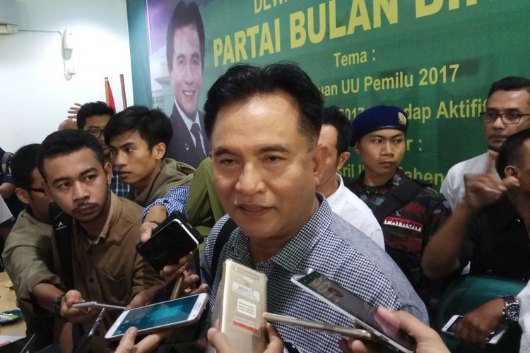 Keputusan Yusril Jadi Pengacara Jokowi-Maruf Berdampak terhadap Sikap PBB