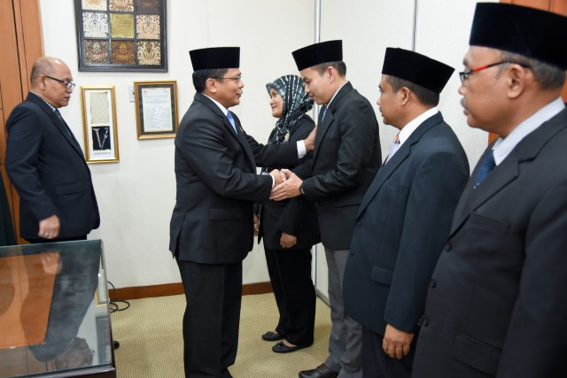 Sekjen DPR Resmi Lantik Pejabat Eselon Baru