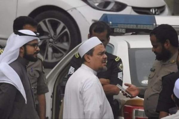 Ini Kronologi Penangkapan Rizieq Shihab oleh Kepolisian Arab Saudi