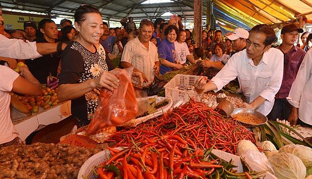 Pernyataan Harga Bahan Pokok Naik di Pasar Menakuti Masyarakat