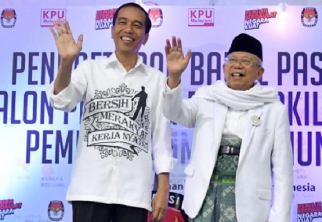 Hoaks dan Manipulasi Bikin Elektabilitas Jokowi-Maruf Belum Tembus 60 Persen