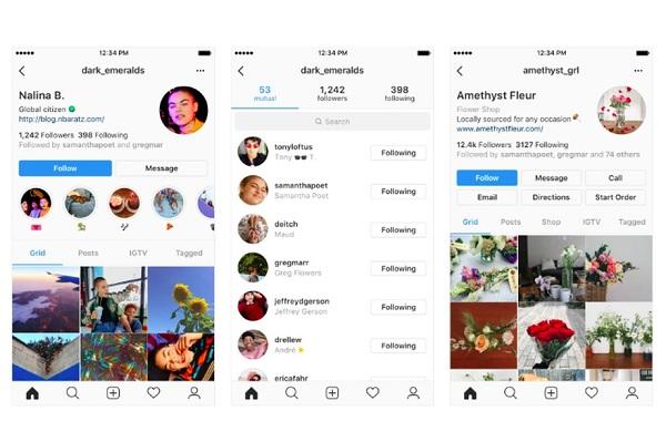 Instagram Siapkan Desain Profil Baru Jadi Lebih Sederhana