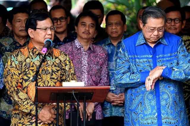 SBY Akui Prabowo Sembrono dan Tak Pernah Munculkan Visi dan Misi