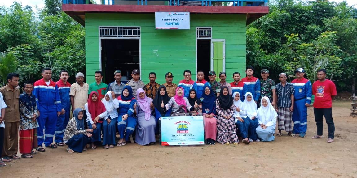Dukung NAWACITA, PT Pertamina EP Bantu Taman Baca Untuk Sekolah Merdeka