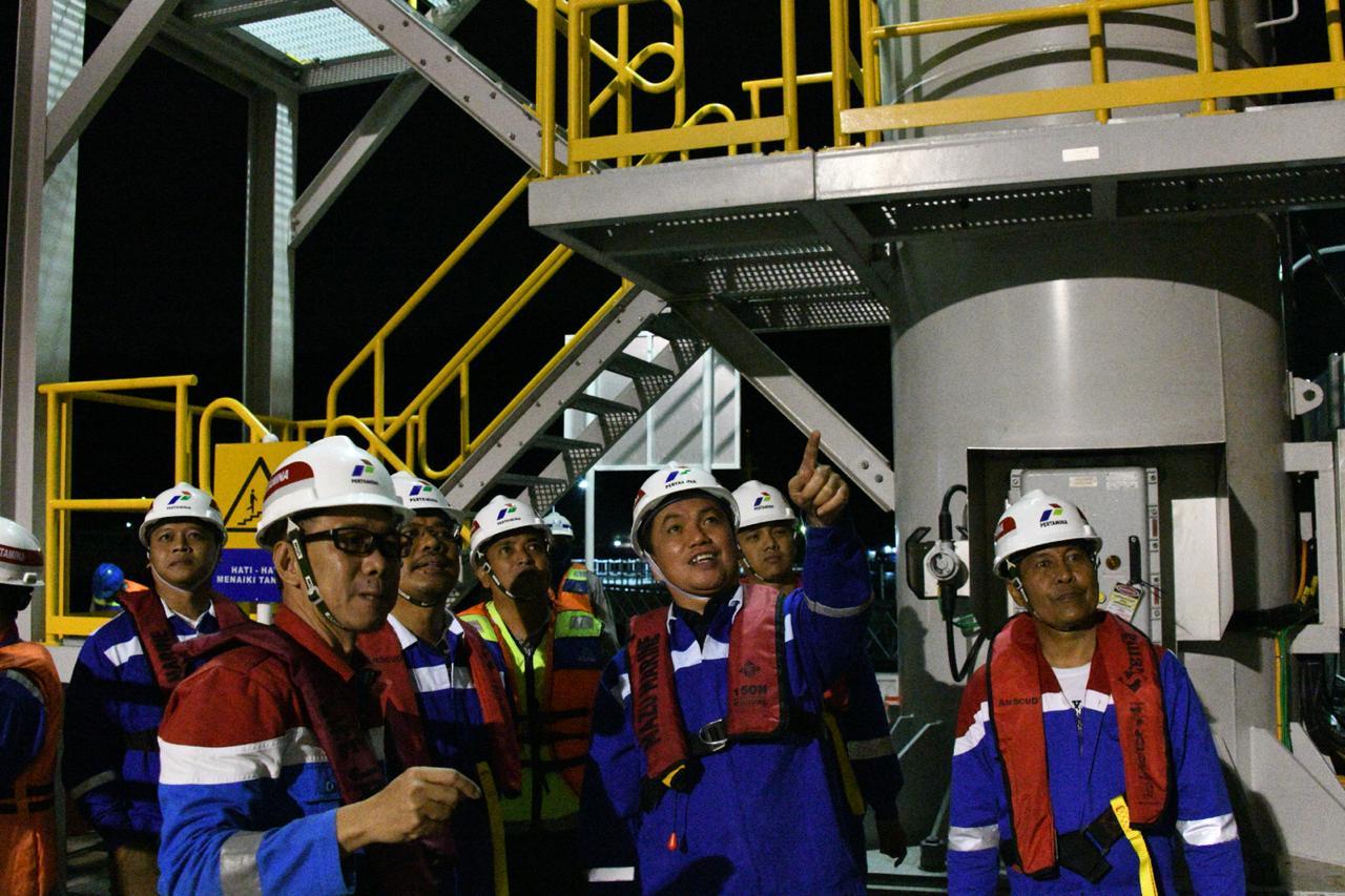 Tinjau Sarfas BBM dan LPG di Banten, BPH Migas Apresiasi Pertamina