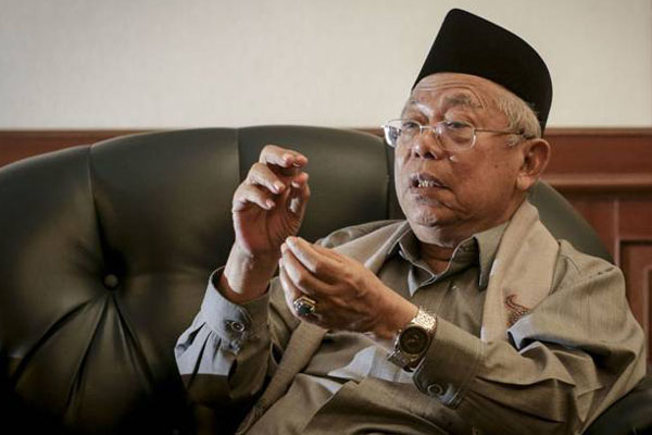 Soal Debat Pilpres, Ma'ruf Amin Yakin Mampu Atasi Prabowo-Sandiaga