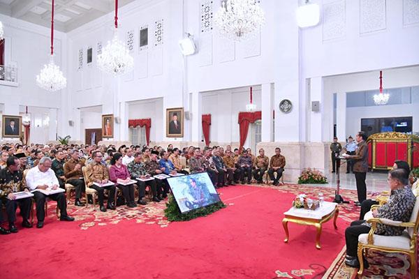 Serahkan DIPA 2019, Presiden Jokowi: Anggaran Untuk Kesejahteraan Rakyat