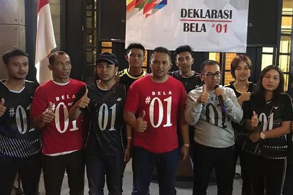 Dukung Jokowi-Ma'ruf, Kaum Muda Solo Jadi Ujung Tombak Tangkal Isu Negatif