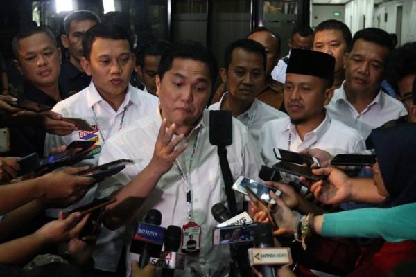 Erick Thohir Mengutuk Keras Provokasi dalam Perusakan Atribut Partai
