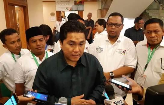 Erick Thohir Heran Kasus Tercecernya e-KTP Dikait-kaitkan dengan TKN