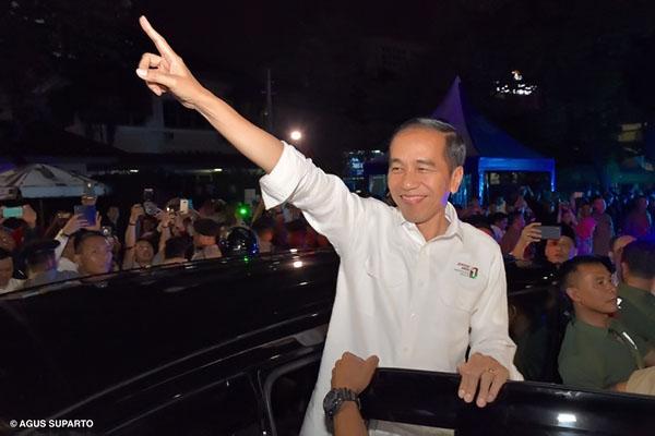 Serap Aspirasi Rakyat, Jokowi Minta Pendukungnya Kampanye Door to Door