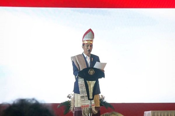 Jokowi di acara Natal Nasional mengingatkan persatuan adalah aset terbesar bangsa