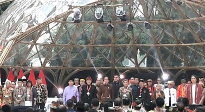 Jokowi Terima Naskah Strategi Kebudayaan Hasil Kongres Kebudayaan