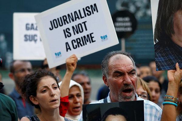 CPJ: Sebanyak 257 Jurnalis di Seluruh Dunia Dipenjara Karena Profesinya