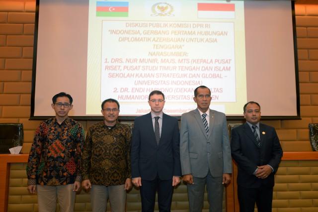 Komisi I DPR dan Kedutaan Azerbaijan Gelar Diskusi Publik