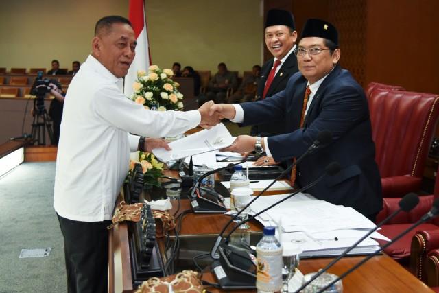 DPR dan Pemerintah Setujui Kerja Sama Keamanan dengan Tiga Negara