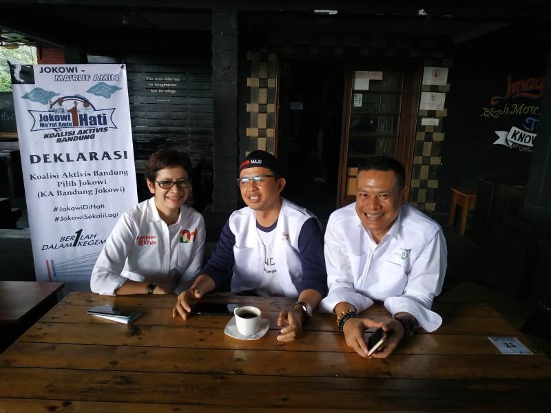 810 Organisasi Relawan di Jawa Barat Siap Menangkan Jokowi