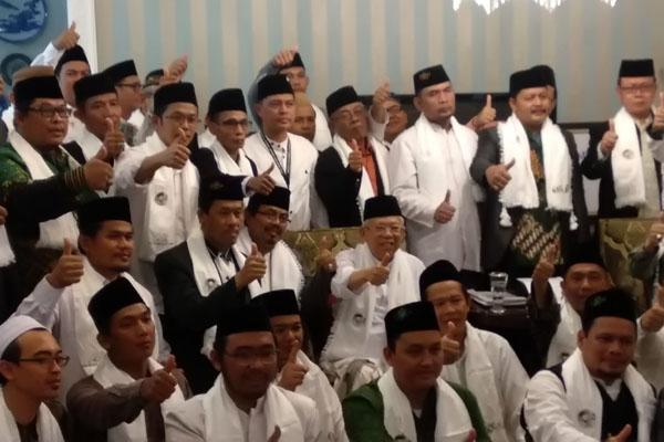 Didukung PCNU Tangerang, Ma'ruf Optimis Menang Telak