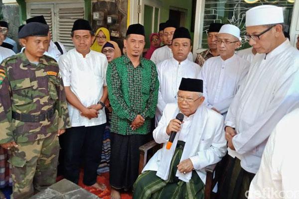 Sejumlah Ulama Pendukung Prabowo Alihkan Dukungan untuk Jokowi-Ma'ruf Amin