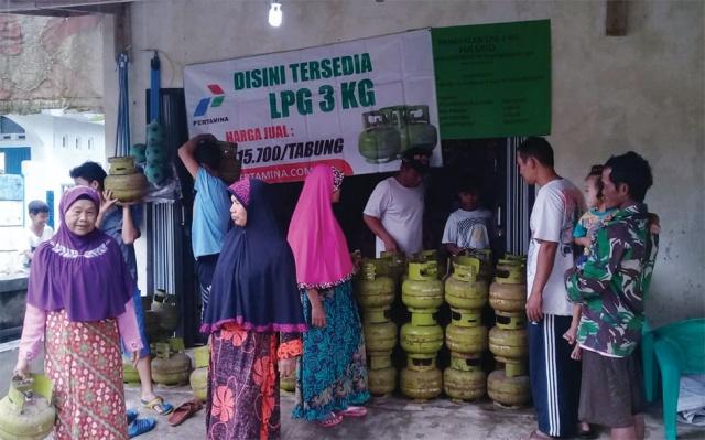 Pertamina Pasok 27 Ribu Tabung LPG 3 Kg dan Siagakan 425 Pangkalan Elpiji di Pandeglang