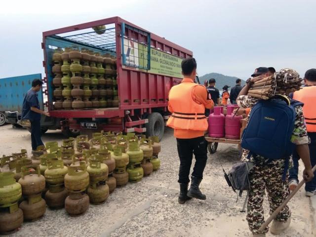 Pasca Erupsi Anak Krakatau, Pertamina MOR II Amankan Kebutuhan LPG Masyarakat Lampung