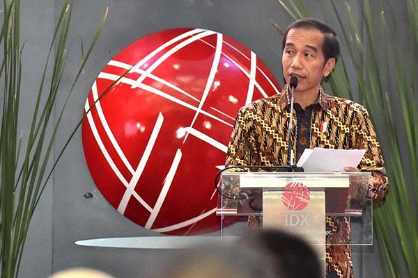 Tutup Perdagangan Bursa 2018, Presiden Jokowi: Kinerja IHSG Sesuai Target
