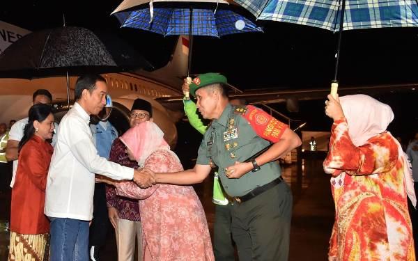 Presiden Joko Widodo Melanjutkan Kunjungan Kerja ke Provinsi Jambi
