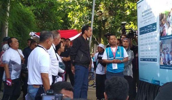 Jokowi Resmikan Penyambungan Listrik Gratis Bagi 200 Ribu Masyarakat Miskin di Jawa Barat