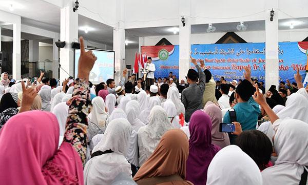 Presiden Jokowi: Keragaman itu Kodrat Allah, Jaga Ukhuwah Kebangsaan