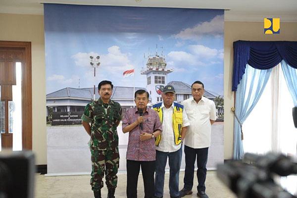 Kementerian PUPR Kerahkan Alat Berat, Peralatan Air Bersih dan Sanitasi untuk Tanggap Darurat Bencana di Pandeglang dan Lampung