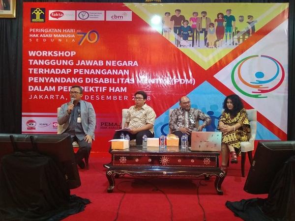 Penanganan Penyandang Disabilitas Mental dalam Perspektif HAM di Indonesia