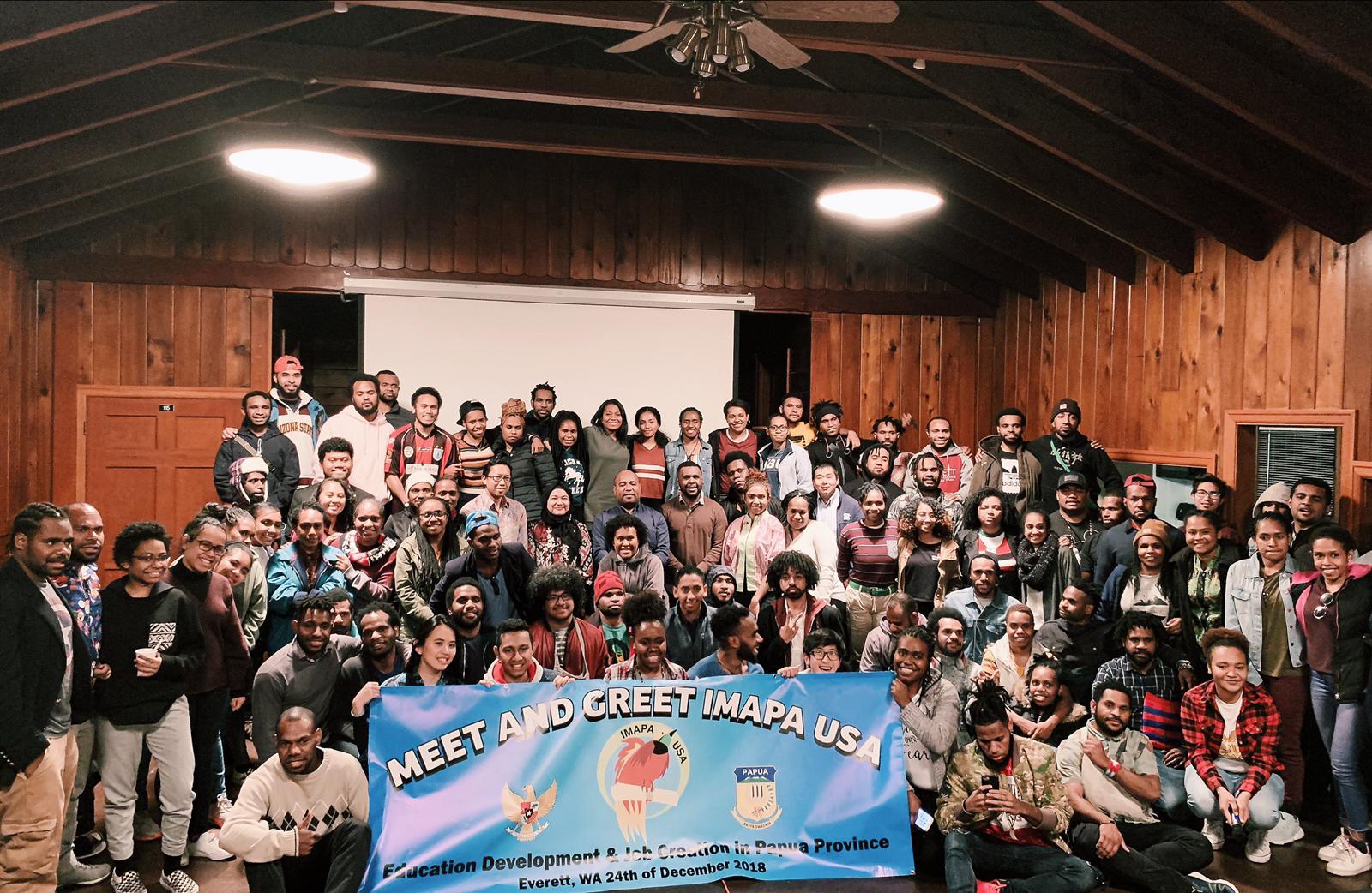 Ikatan Mahasiswa Papua di Amerika Serikat Siap Mengabdi kepada Negeri