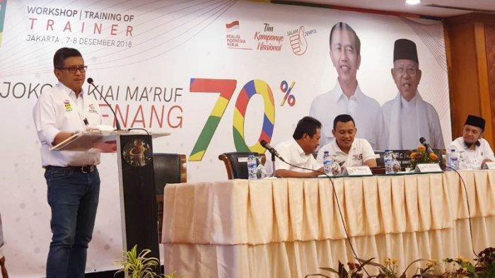 Workshop TKD: Dukungan Positif ke Kubu Jokowi Makin Kencang