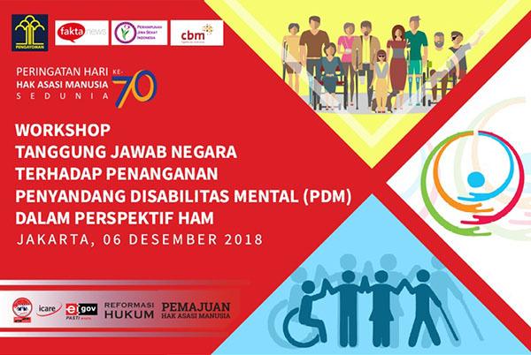 Sambut Hari HAM serta Hari Disabilitas Internasional, Ditjen HAM Gelar Workshop Penanganan PDM